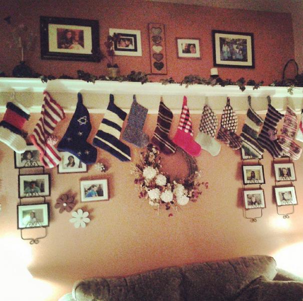 Buckleys' stockings