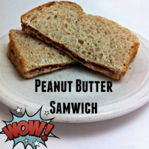 Deluxe Peanut Butter Samwich recipe - from The Deliberate Dad!