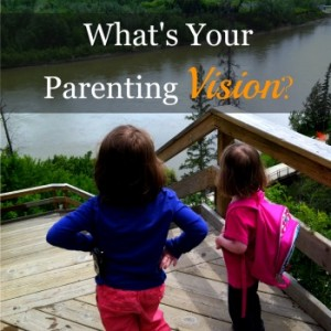 What's your parenting vision? Do you have one? Download this FREE printable resource to write your parenting vision statement. #parenting http://thedeliberatemom.com/