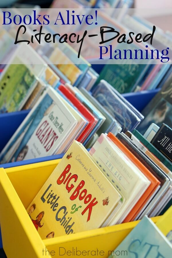 I love children's books. So it may not come as a surprise to you that one of my favourite curriculum planning methods is literacy-based planning. An example and free printable is included!