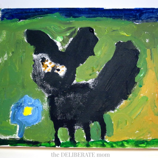 Art can evolve into a full curriculum covering a range of subjects. Check out this artist study and resulting Maud Lewis inspired curriculum as an example!