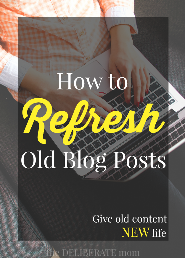 This is one of those blogging tips that many bloggers would rather forget. However, every piece of content on your blog has the potential to increase readership! Of all the blogging ideas, you embrace today, this one is critical: Learn how to refresh and resurrect old blog posts. #blogging #blogtips