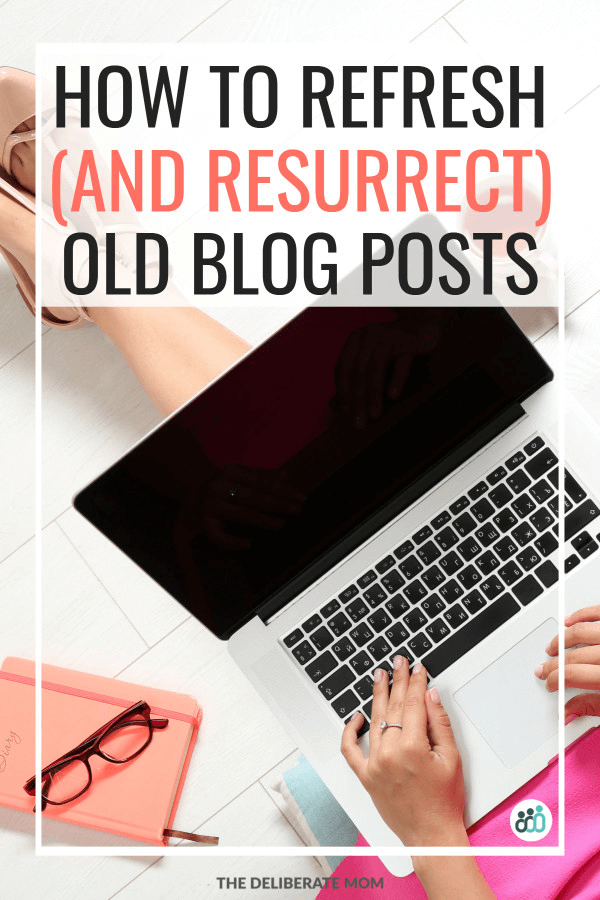 Refresh and resurrect old blog posts.