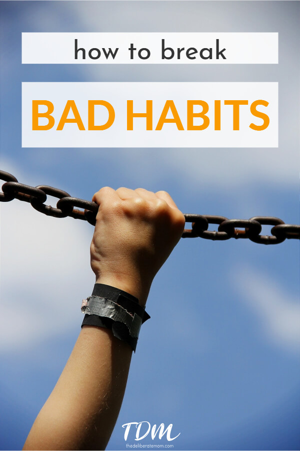 Are you struggling to quit a bad habit?! Throughout life we encounter moments of self-reflection and inspiration to make a change. Do you want to quit smoking? Do you want to go sugar-free? Perhaps you want to stop yelling at your kids? Here are some great tips on how to break bad habits... for good!