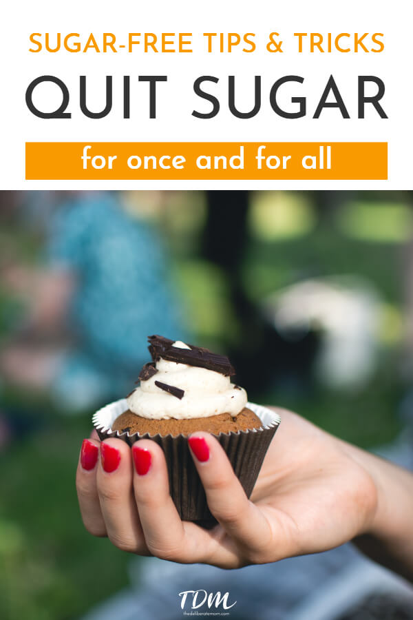 What started as a bad dream turned into a mission to quit eating sugar. I quit sugar! Check out these amazing, clever, and helpful sugar-free tips and tricks that you can use to kick this bad habit for good! #quitsugar #sugarfreeliving #healthydiet