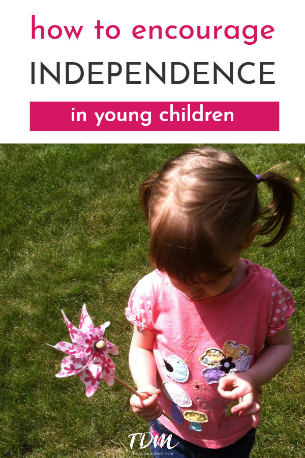 It's natural... all children eventually wish to assert their independence. These parenting tips help foster independence and encourage our children to practice assorted self-help skills. #parenting #parentingtips