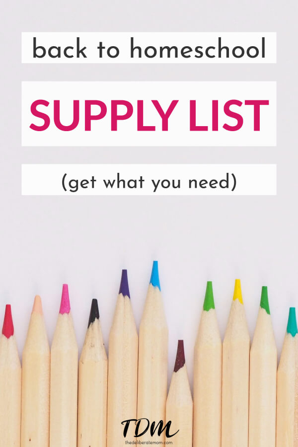 There are some materials that I consider very valuable in our homeschool. Come check out my back to homeschool supply list and must-have items. Back to school shopping at its finest! #homeschoolsupplies