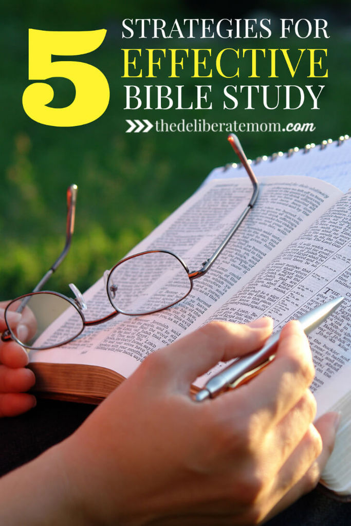 As Christians, to know God, we need to know the Bible. How can we improve our Bible study habits? Check out these 5 fabulous tips for effective Bible Study.