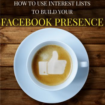 Check out this tutorial on how to build interest lists on Facebook! Interest lists helps organize your Facebook feed and boost your Facebook presence! You CAN use Facebook to build your blog!