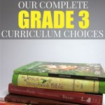 Our Complete Grade 3 Curriculum Choices