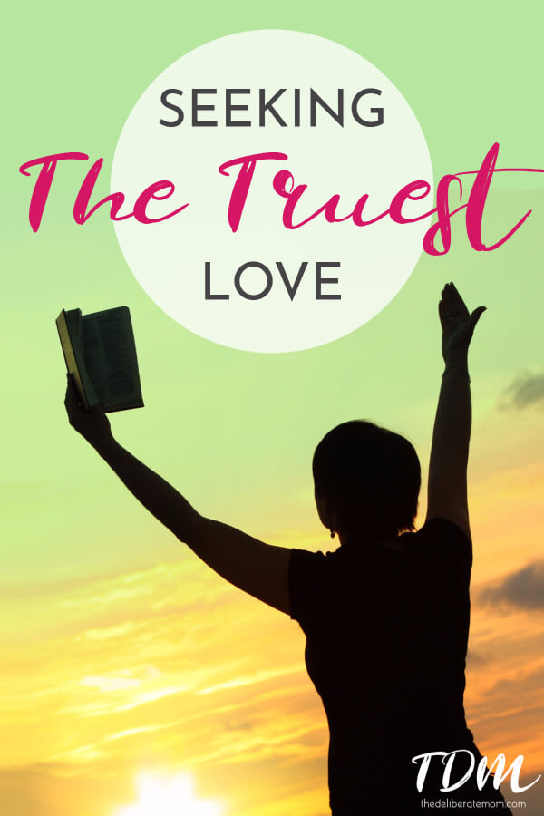 Are you searching for true love? A love so true and dear? That's the love that God has for us.