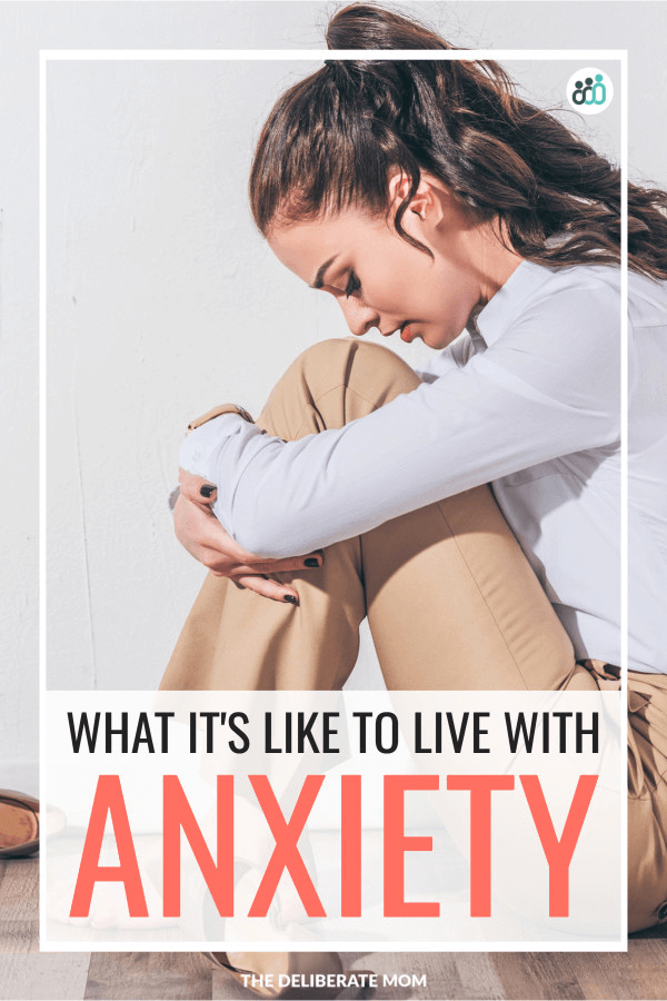 What it's like to live with anxiety