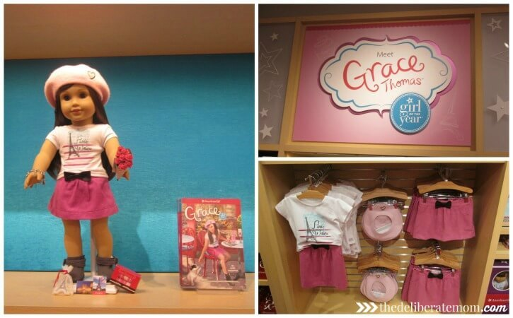 The Grace Thomas American Girl doll is absolutely stunning.