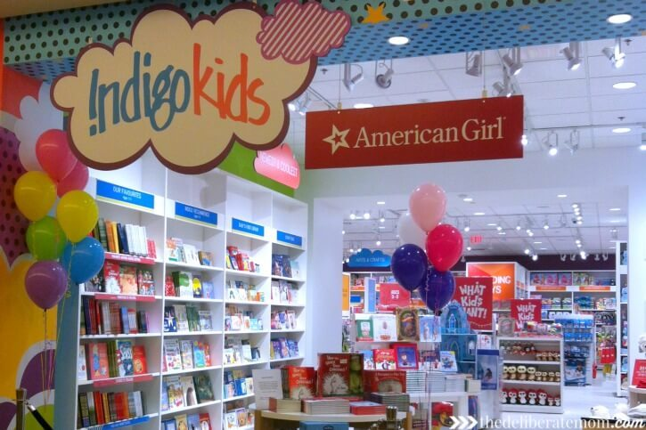 The newly expanded Indigo Kids store in West Edmonton Mall has it's own American Girl store!