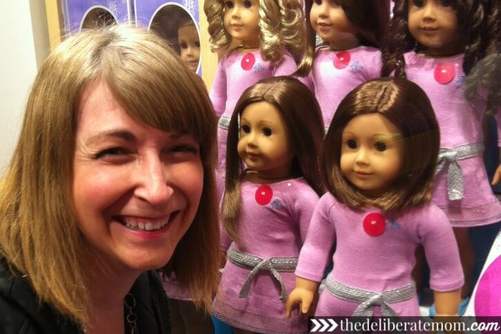 I found a Truly Me doll that looks like me!