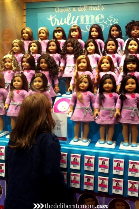 The Truly Me American Girl dolls are amazing! You really CAN have a doll that looks like you!