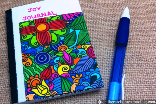 What do you do on your toughest homeschool day? Can you find joy? One of the suggestions in this article is to keep a homeschool joy journal!
