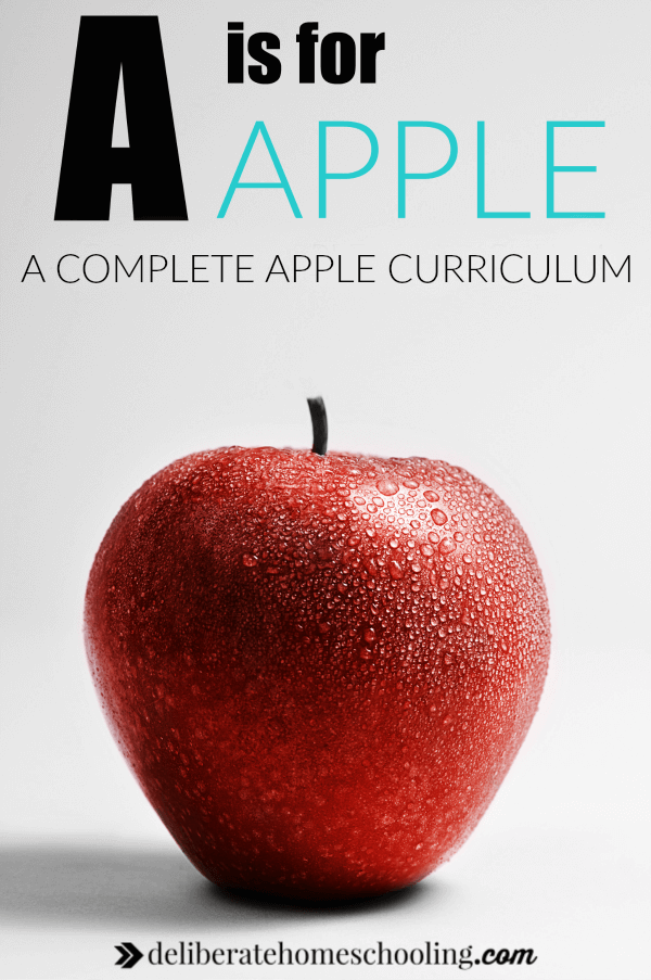 Check out this complete preschool curriculum to explore apples AND the letter A. This comprehensive apple curriculum includes activities for various subjects, recommended books about apples, and so much more!