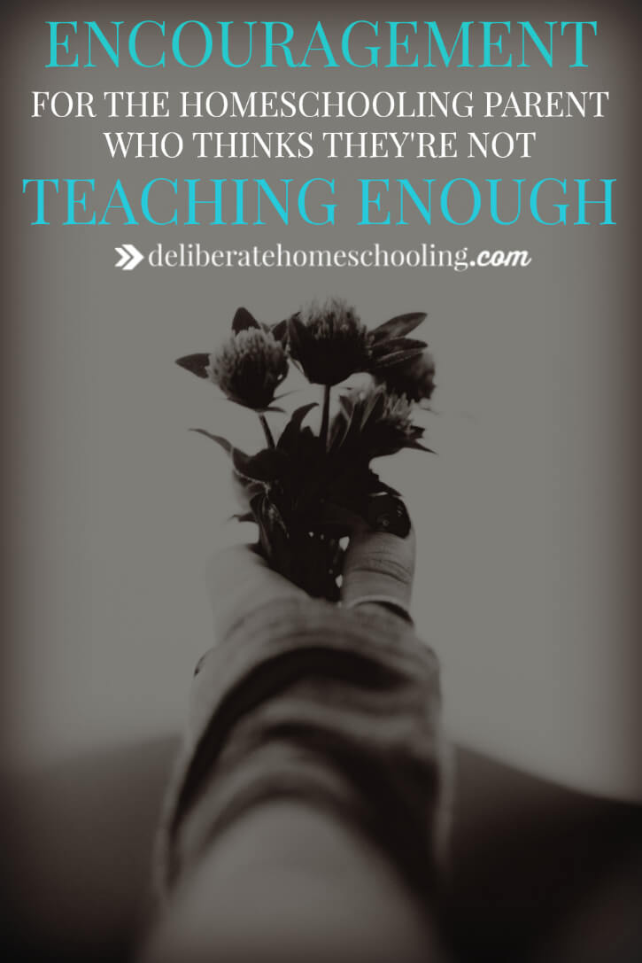 Are you worried that your homeschool days are too short? Are you concerned that you aren't teaching your child for enough hours in the day? Here's some encouragement for the homeschooler who thinks they're not teaching enough.