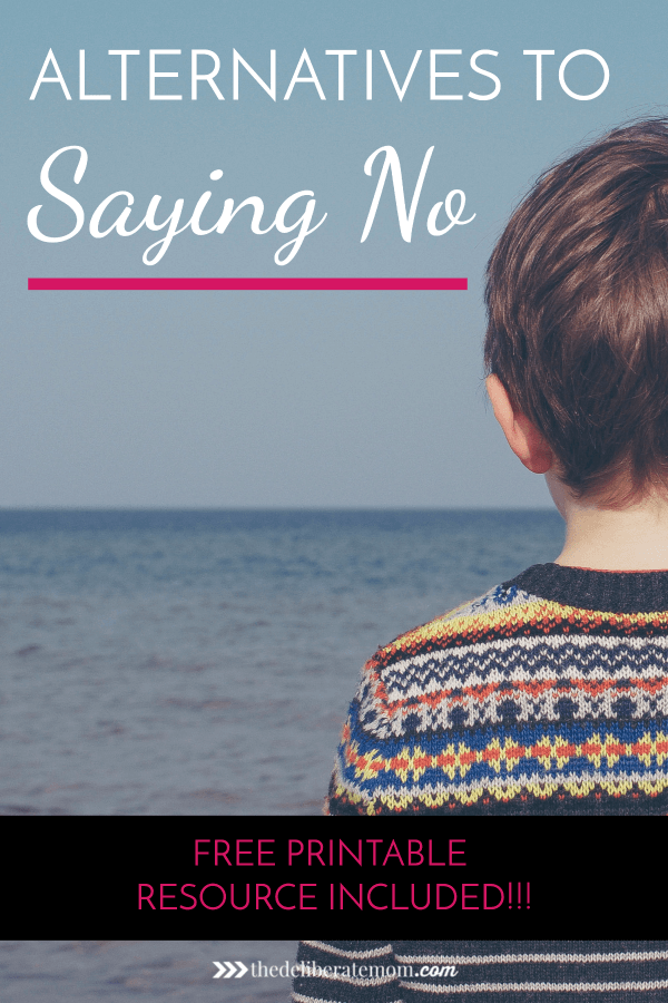 No! Stop! Don't do that! Not Now! Positive child guidance can be challenging, especially if you find yourself in a rut of saying no. Come get some tips for how to say more yes and less no and get your printable resource sheet to help you out!