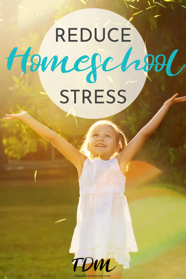 Are your homeschool days strained? Are you looking for ways to relieve homeschool stress? Check out these tips and reduce homeschooling stress today!