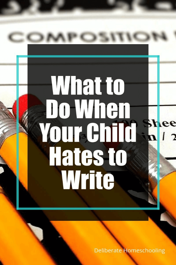My daughter hates writing. Every lesson used to begin and end with a fight. Check out these strategies I implemented in our homeschool to help her enjoy writing more.