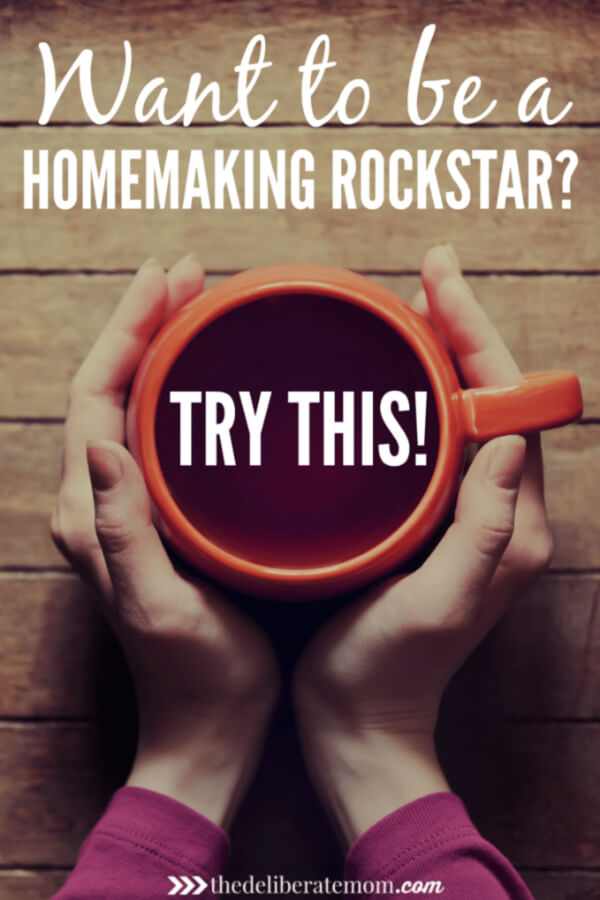 Homemaking can be stressful! There's so much to do and not enough time! You can be a homemaking ROCKSTAR! Check out these homemaking tips and tricks today!