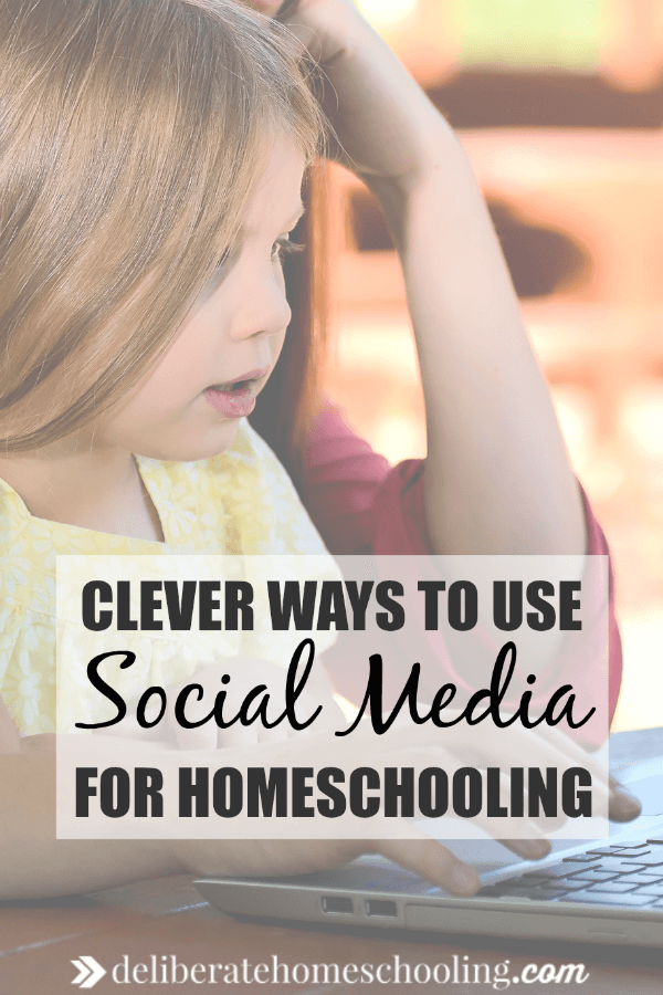 Do you shy away from social media? Here are some clever ways to use social media in your homeschooling. The tips here may surprise you - especially the last one!
