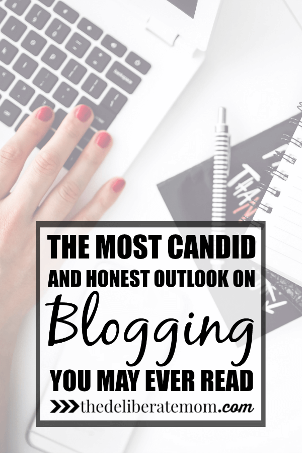 With all the articles and how to posts about blogging, do you want the truth about blogging? Here's my candid and honest outlook about this industry/hobby.
