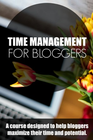 Time Management for Bloggers