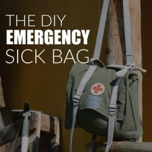 Your child is sick. It's the middle of the night. You're fumbling in the darkness. Make scenarios like these much simpler to handle by creating a DIY emergency sick bag kit!