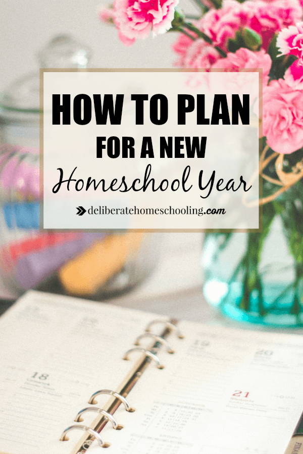 I love planning but my absolute favourite planning is homeschool planning. Come and see how I plan for a new homeschool year!