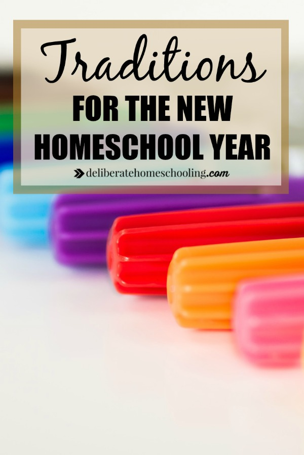 Even though we homeschool, back-to-school time is a special time for us too! There are some things we do during back-to-homeschool time. Check out our activities and traditions that make this time extra-special!
