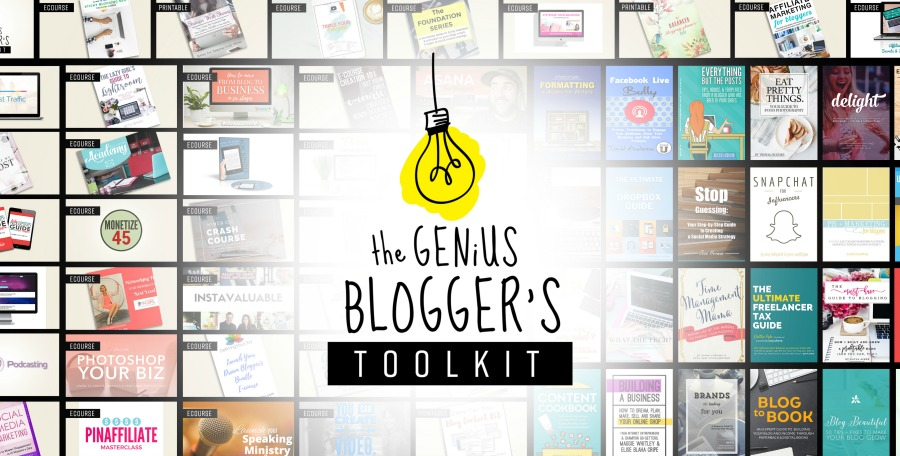 Check out these resources and get some of the best blogging advice available. From eCourses to eBooks, to printable resources; this is one awesome toolkit!