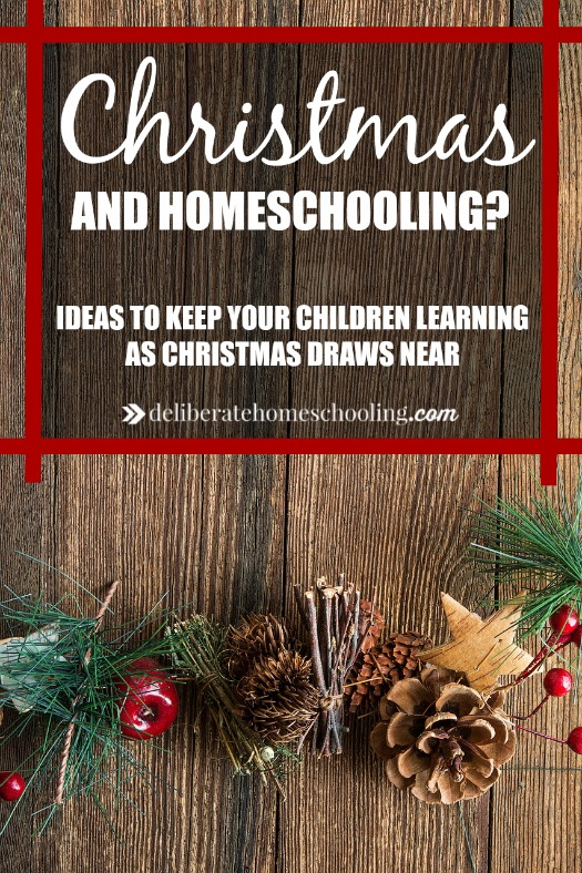 Distracted learners? Homeschooling can be challenging when holidays approach. Check out these tips and ideas on how to homeschool through the Christmas season!