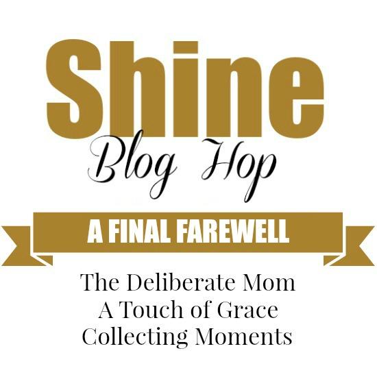 The SHINE Blog Hop – Farewell