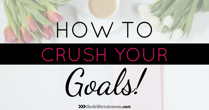 Are you goal setting? Are you making New Year Resolutions for next year? Here are some tips on how to set and CRUSH your goals! Don't just dream it - do it!