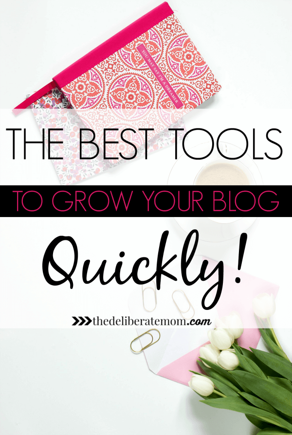 Want to grow your blog? Are you confused as to which blog tools to use? Here are the BEST tools to grow your blog QUICKLY!