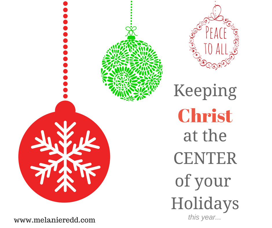 For homeschoolers, during the holiday season, Christ's birth can be overshadowed by many homeschooling expectations and demands. Here are some ways to keep Christ in the center of your Christmas.