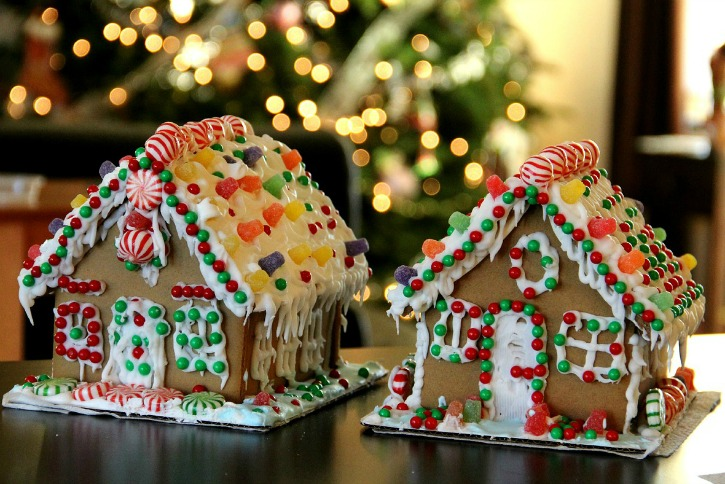 Gingerbread houses are a great way to explore geometry with your homeschoolers! Check out this post for more Christmas homeschooling ideas!