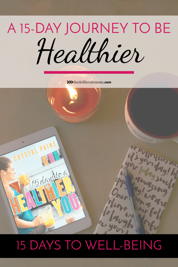 Do you have a new year's resolution to be healthier? Could you imagine 15 days to a healthier you?! Yes, it's possible with this workbook and accountability group.