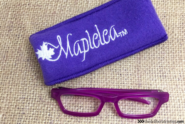 Many of the Maplelea products come with educational journal pages!