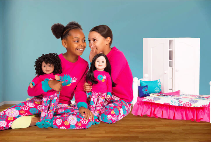 Matching PJs as well as other matching clothing items are one of the unique features of Maplelea!