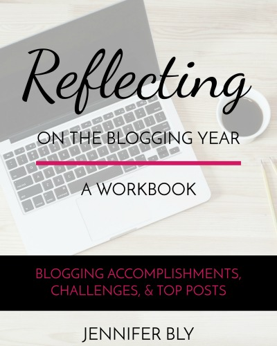 Reflecting on the blogging year - a free workbook when you subscribe to The Deliberate Mom.