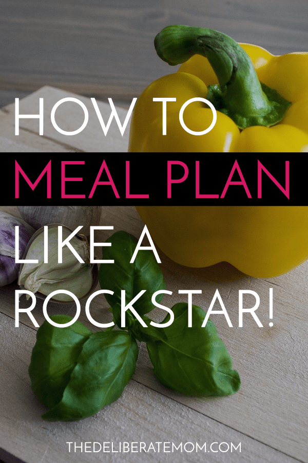 These meal planning tips will save you time, food, and money! Learn how to meal plan like a rockstar... today!