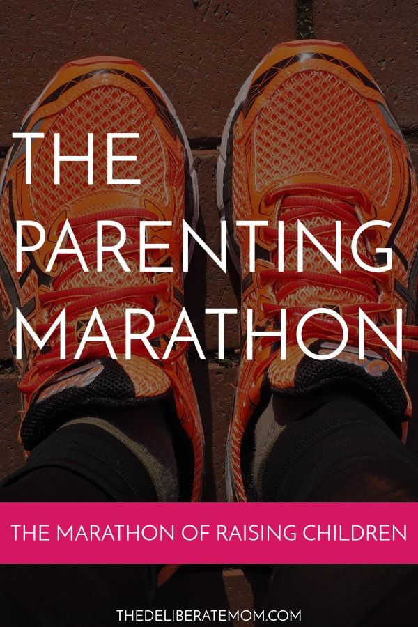 There are some striking similarities between running a marathon and parenting. You can find out all the comparisons here!