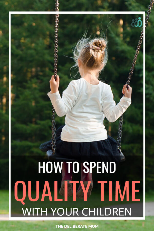 How do we spend intentional time with our children when we have so many other commitments? Check out this article for practical suggestions!