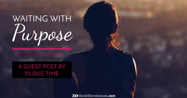 Waiting. The reality of life is that we're all waiting on something. Maybe it's something smaller and less significant. But maybe it's something larger that consumes all your thoughts. Check out this post for encouragement on waiting with purpose.