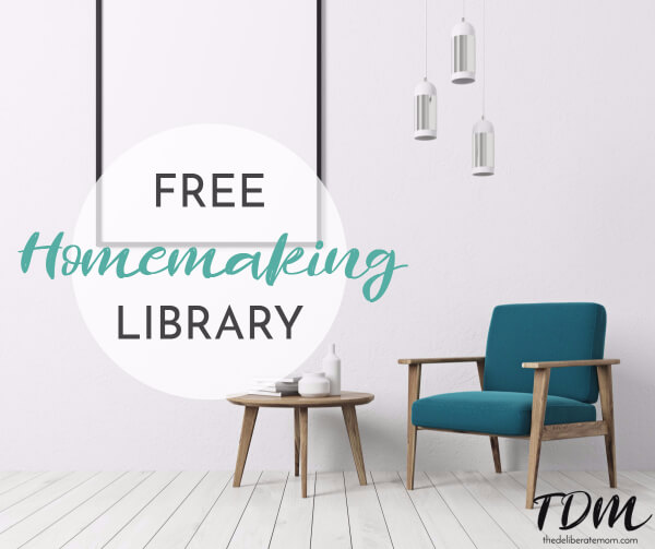 Homemaking is an art and a practice. This homemaking library has dozens of posts about simplicity, cleaning, and everything that comes with managing a home.