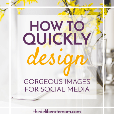 How to Save Time Making Beautiful Images for Your Blog!